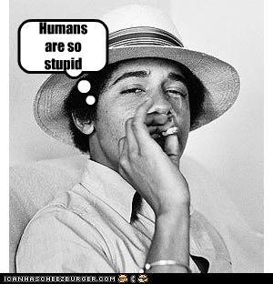 Obama...more than human...